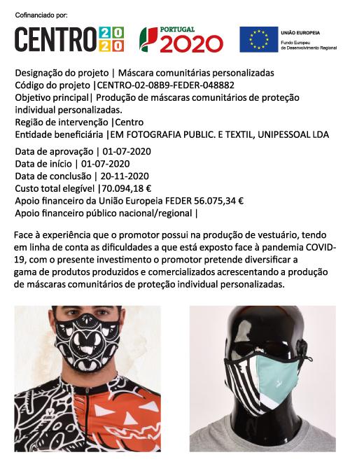 Ficha de Projeto FEDER